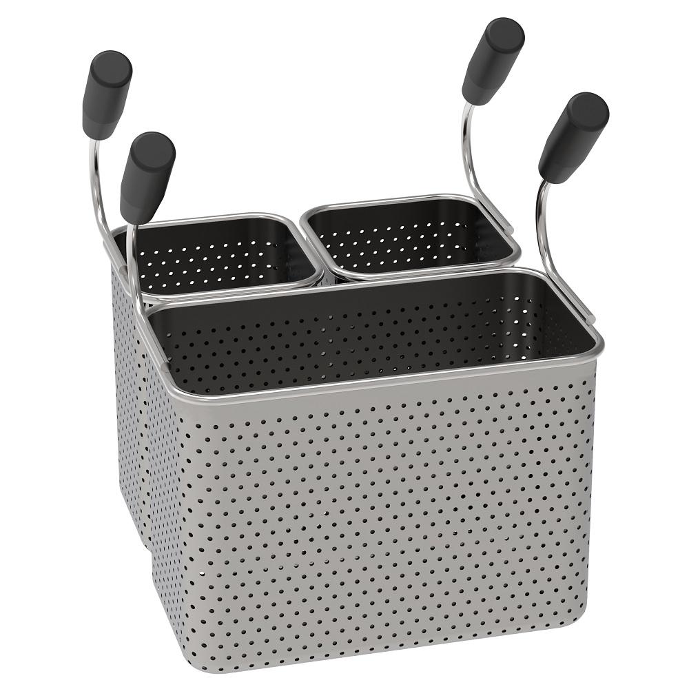 Eurast 4A066021 Basket pasta cooker pak 1 gn 1/3 and 2 gn 1/6