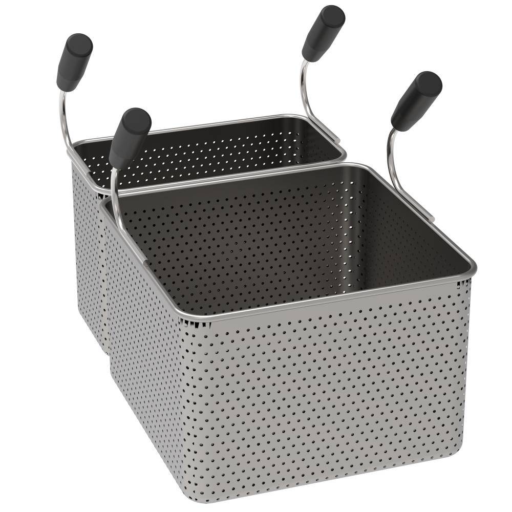 Eurast 4A805993 Basket pasta cooker pak 1 gn 2/3 and 1 gn 1/3