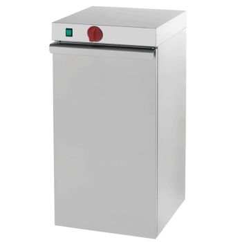 Eurast 61030240 Electric hot cupboard for dishes 1 door - 400x460x870 mm - 400 W 230/1V