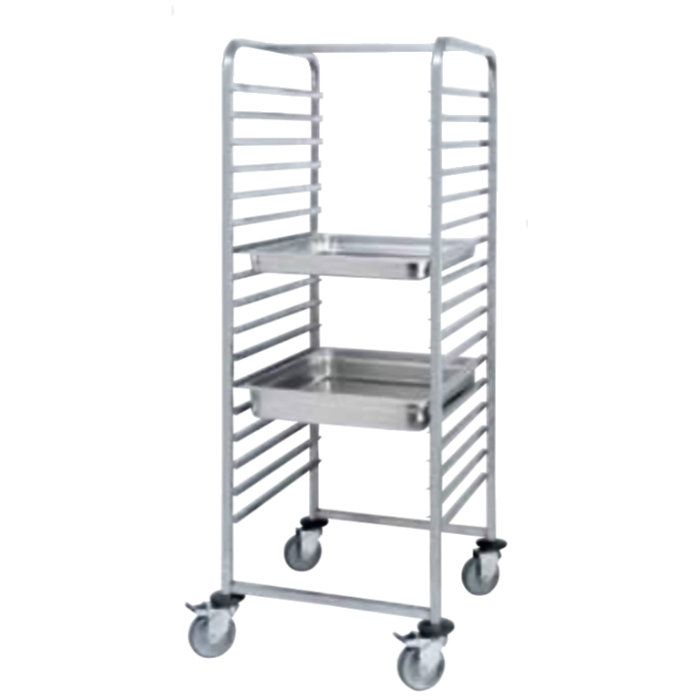 Eurast 91694009 Oven trolley 17 gn 1/1 - 460x630x1720 mm