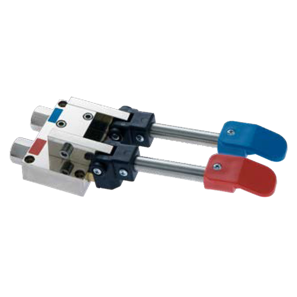 Eurast 22222239 Automatic foot switch for two waters