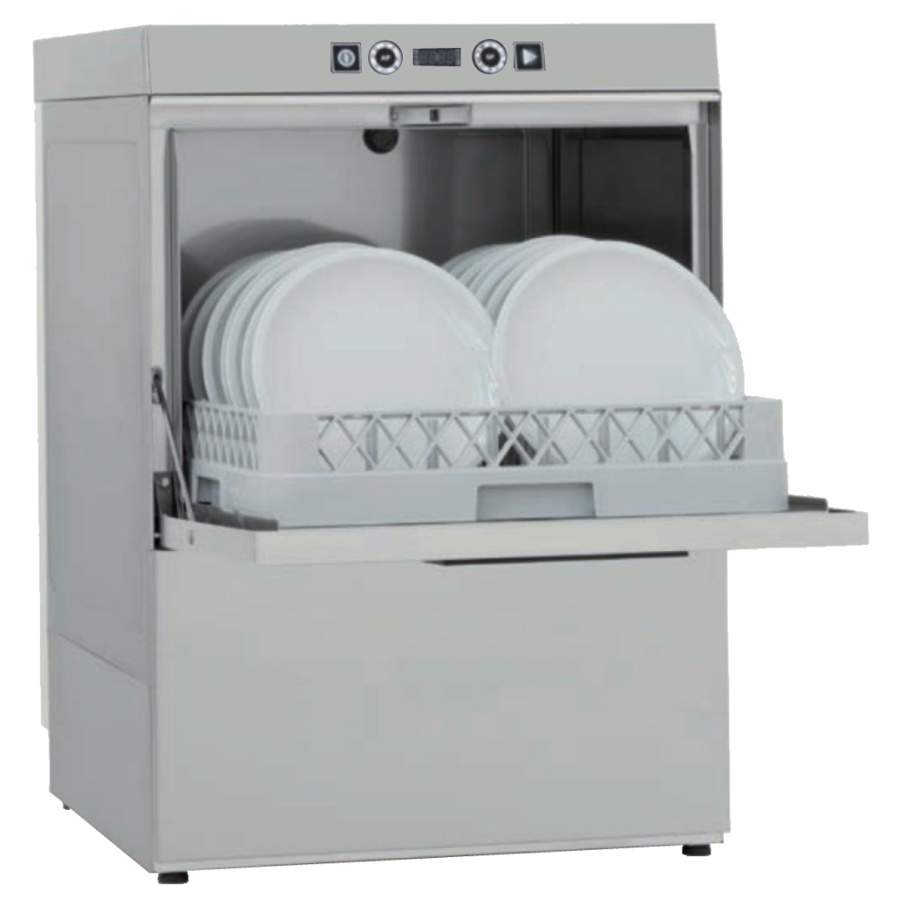 Eurast 46651719 Dishwasher basket 500x500 40 baskets/h. - 575x600x820 mm - 6,8 KW 400/3V