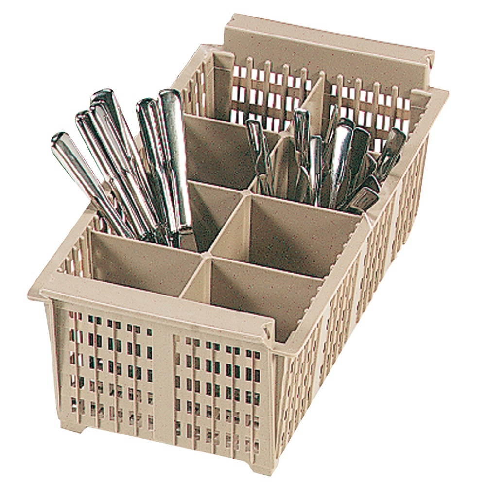 Eurast 95019 Dishwasher basket with 8 cutlery compartments - 425x220x140 mm