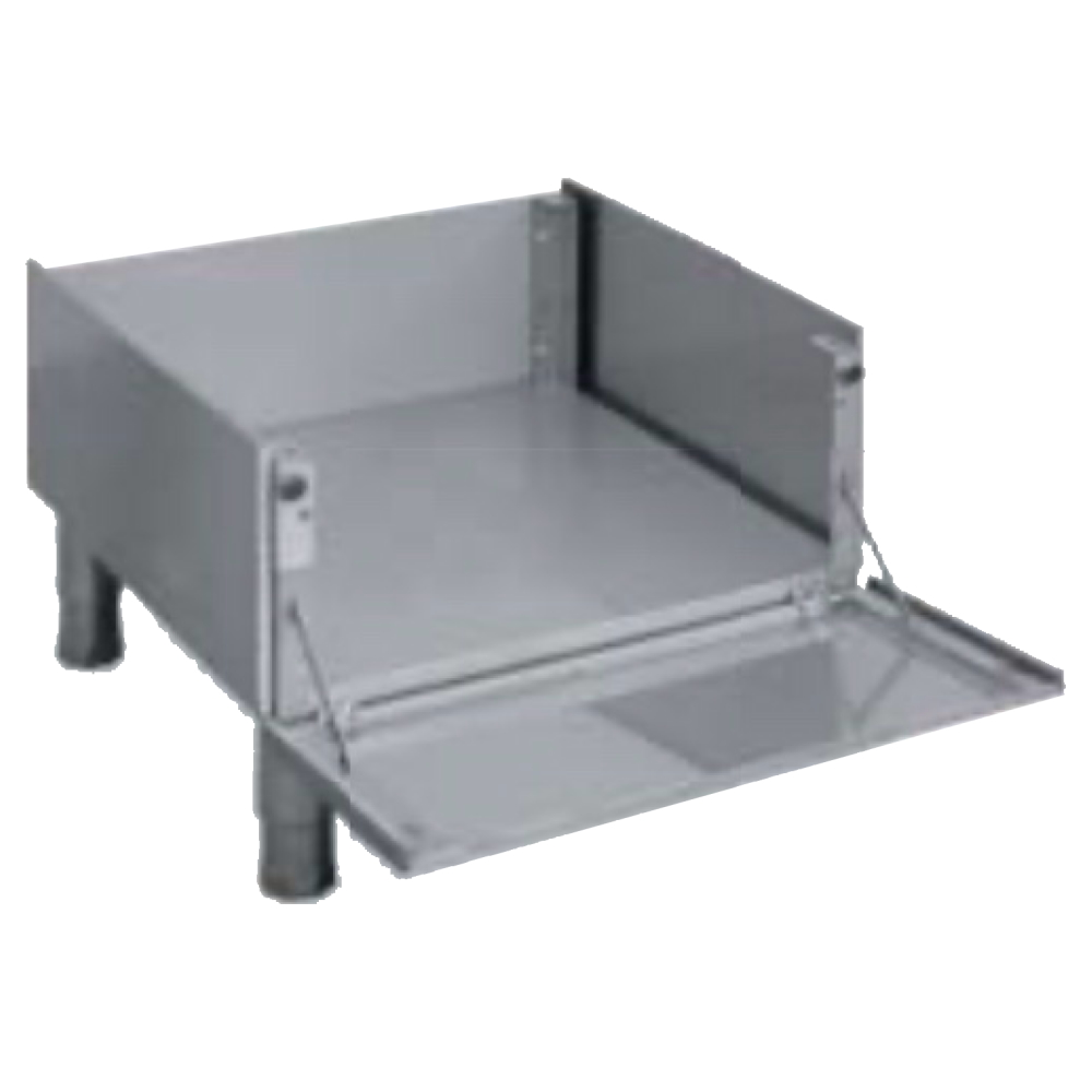 Eurast 4A600897 Pedestal support with door for dishwashers - 600x600x280 mm